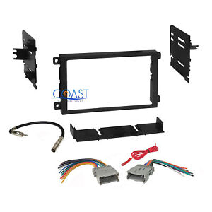 Car Radio Stereo Dash Kit Wire Harness Combo For 1992 up Chevrolet Gmc Pontiac