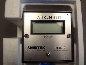 Ametek Digital Thermometer Dt 8310 Type K 50 450 F Nib