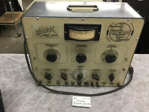 Vintage Hickok 610a Universal Television Alignment Signal Generator With Manuals