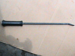Snap On Bent Nose Pry Bar Spbs24a Black Hard Handle 24 3 4 End To End
