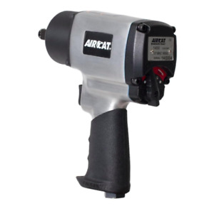 Aircat Aluminum 1 2 In Drive Impact Wrench Bolting Tool Air Compressor Pneumatic