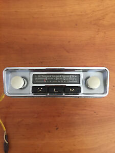 Vintage Car Radio Bremen Late 60 S