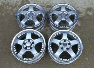 Rare Jdm Ssr Sp1 R Wheels 5x112 Vw Audi Benz Mercedes Volkswagen