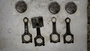 Datsun nissan Ld20ii t Pistons And Conrods Set