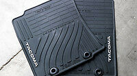2012 2013 2014 Toyota Tacoma Double Cab 4pc All Weather Floor Mats