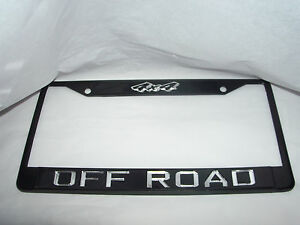 Off Road 4x4 Country Mudding Redneck License Plate Frame