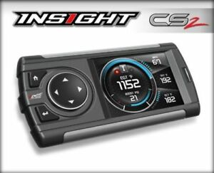 Edge Insight Cs2 Monitor Gauge Display 84030 For All 1996 Obd2 Vehicles
