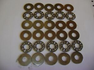 10 Axk0821 Thrust Needle Roller Bearings 8x21x2 Mm With Washers Frd151
