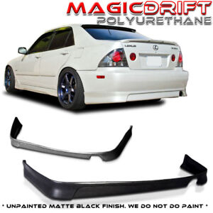 For 01 05 Lexus Is300 Altezza Jdm Vip Style Urethane Rear Add on Bumper Lip