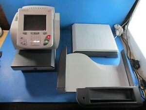 Hasler Im490 Tabletop Envelope Printer With Scale And Tray Used