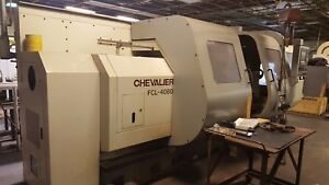 Chevalier Fcl4080 Combination Lathe With 6 5 Bore