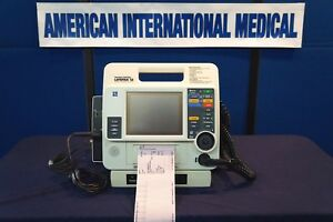 Lifepak 12 Biphasic W Ecg Pacing Aed Spo2 p1 p2 small Printer 2 Year Warranty