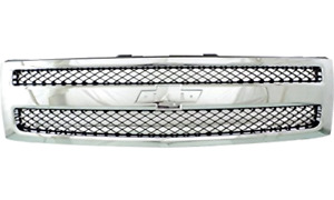 Front Grill Grille For Chevy Silverado 1500 2013 2012 2011 2010 2009 2008 2007