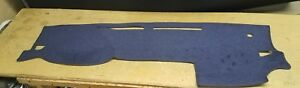 2016 2017 2018 Toyota Tacoma Dash Cover Dark Blue Polycarpet