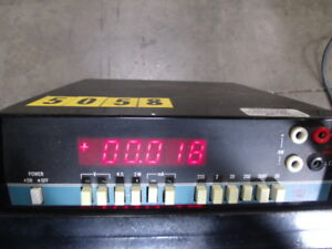 Data Precision Digital Multi meter Model 2590
