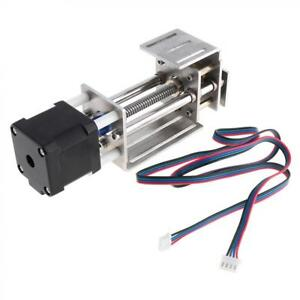 Threaded Rod Linear Guide Rail With Stepping Motor For Cnc Linear Actuator