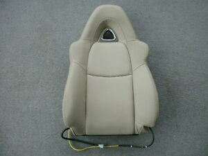 Mazda Rx8 Tan Leather Right Front Seat Back