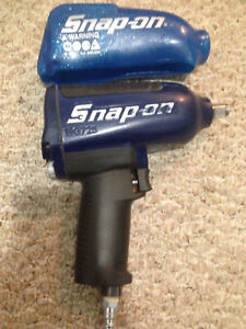 Snap On Blue Mg725 1 2 Impact Wrench W New Metallic Blue Boot