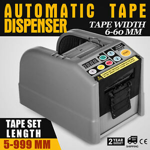 Zcut 9 Automatic Tape Dispenser Sealing Adhesive Tape Anti static Abs Cycle