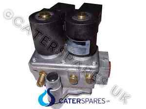 Fish Chip Range Double Gas Solenoid Valve 230v Twin Coil 1 2 Governor Part