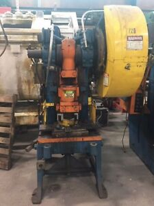 Minster 6 60 Ton Obi Punch Press 3