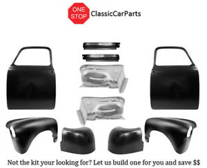 1952 1953 Chevy Pick Up Door Shells Fenders Inner Rockers Cab Corners