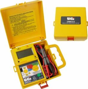 Uei Test Instruments Dmeg3 Digital Insulation Resistance Tester New
