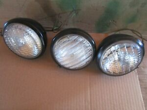 Oliver Tractor 1550 1555 1600 1650 1655 1800 1900 Lights With Brackets Very Nice