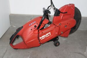 Hilti Dsh 700 Concrete Cut Off Saw 14 W Wheels Runs Strong Euc