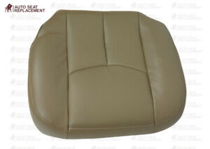 2003 To 2006 Chevy Silverado Gmc Sierra Upholstery Leather Seat Cover Tan 522