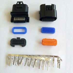 10pcs 18 Pin way Male female Car Computer Version Connector Fci Replacement Part