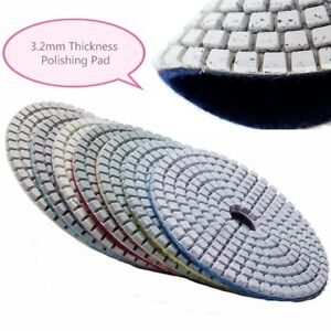 4 Diamond Polishing Pad 1080 Pack Granite Marble Stone Glass Travertine Masonry