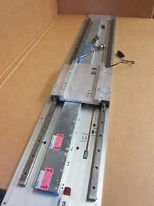 Kollmorgen Ddl Linear Motor System Mw050 Ways Il12 050 Motor And Renishaw Scale