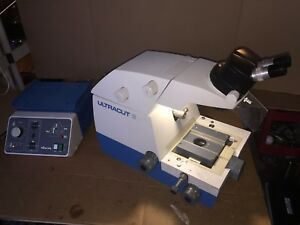 Reichert jung 701704 Ultracut E Microtome W Stereo Star Zoom And Controller