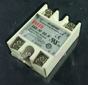 Solid State Relay Ssr 90da h 90a Ssr 90da H Dc To Ac Relay Solid State