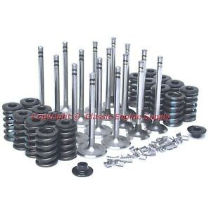 New Z28 Springs 1 72 Intake 1 5 Exhaust Valve Set Chevy 400 350 327 305 283