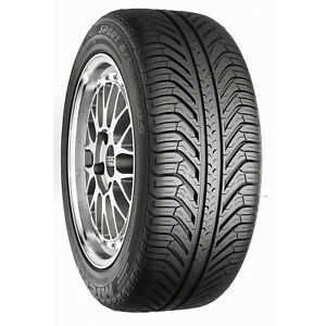 2 New Michelin Tires 285 35zr18 97y Pilot Sport A s Plus 285 35r18 two