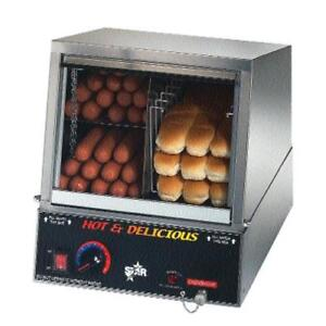 Star 35ssa Hot Dog Bun Steamer Cooker