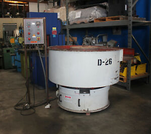Sweco Vibratory Dryer Machine bowl Type 10 Cubic Feet 7816