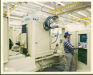 5 axis Cnc Horizontal Milling Machine K t K And T Kearney Trecker Mm600 Moduline