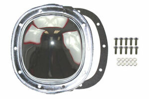 Chrome Steel Chevy Gm 10 Bolt Differential Cover For 7 5 7 6 8 5 8 6 Ring Gear