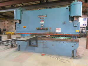 350 Ton X 14 Niagara Cnc 2 Axis Hydraulic Press Brake Metal Bending