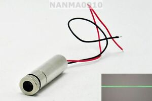 50mw Focusable 515nm 520nm Grass Green Line Beam Laser Diode Module 3v 4v