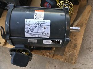 New Old Stock Electric Us Motors Industrial D3p2d 3hp Odp 1770 Rpm 3 Phase Fh79