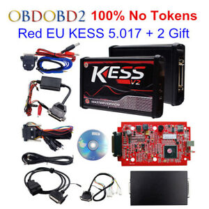 100 No Tokens Red Kess V2 V5 017 V2 23 Ecu Chip Tuning Eu Master Ecu Programmer