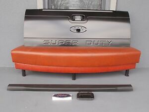 Tailgate Kit 2 New Super Duty Standard No Step F250 F350 Primed Must B Painted