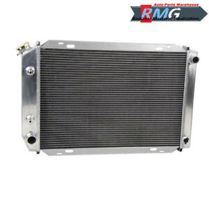 3row Aluminum Radiator For 1979 1993 Ford Mustang 1980 1981 82 83 84 85 86 1992