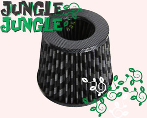 4 Inch Dry Cone Style Air Filter For Cold And Short Ram Intakes Carbon Fiber