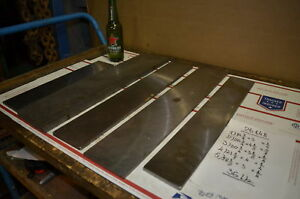 Lot Of 5 Steel Plate For Blacksmith Anvil 36 Lbs Inv 26148