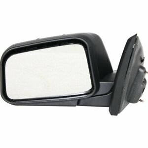 Mirror For 2008 Ford Edge Se Sel Limited Models Left Side Textured Black